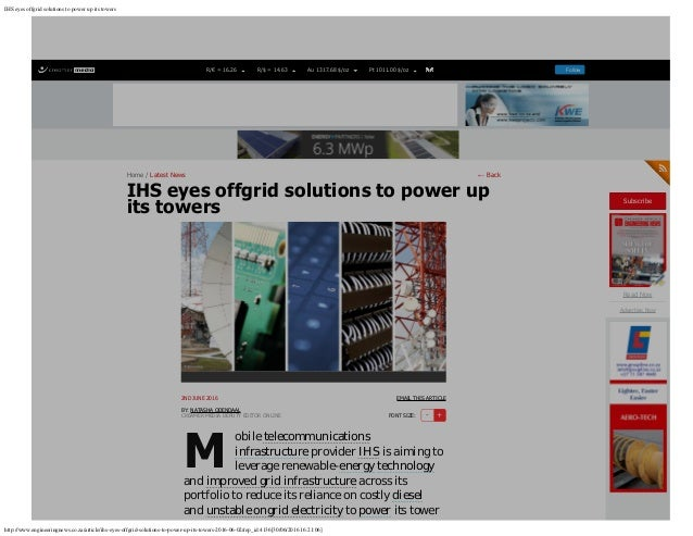 IHS eyes offgrid solutions to power up its towers http://www.engineeringnews.co.za/article/ihs-eyes-offgrid-solutions-to-p...