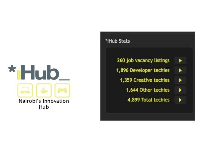 Nairobi's Innovation        Hub