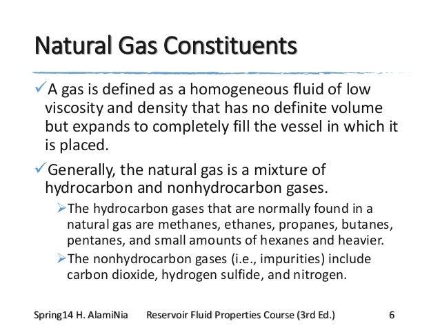 Natural Gas Molecular Weight Specific Gravity