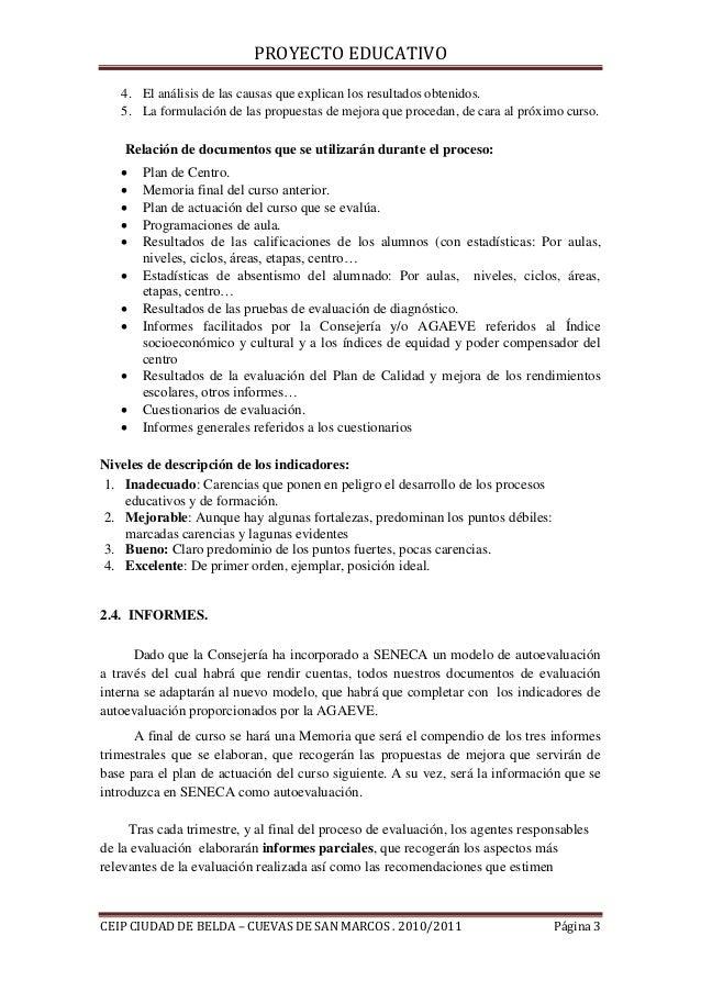 Ii.6. procedimientos de evaluación interna Slide 3
