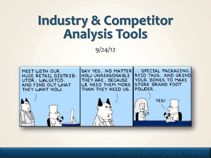 1   Industry & Competitor Analysis