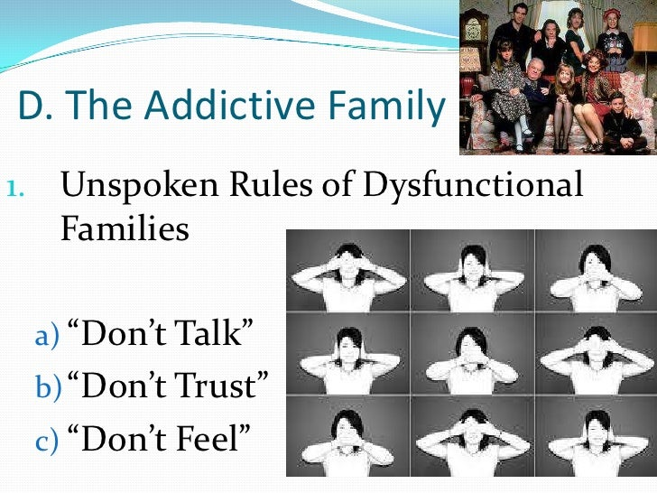 family roles in addiction pdf