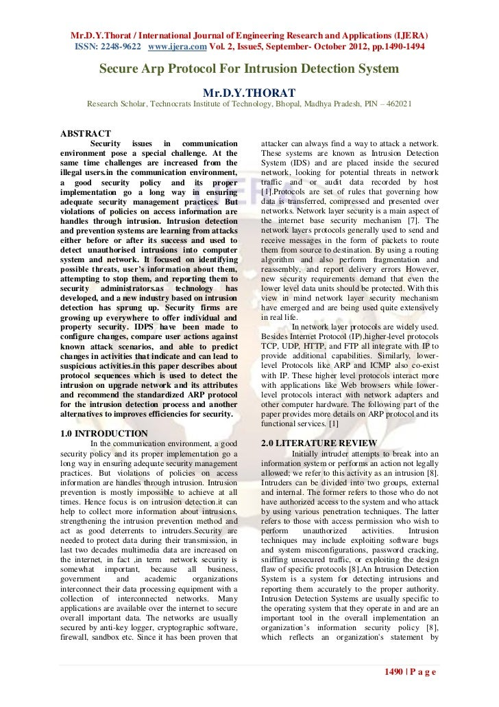 Mr.D.Y.Thorat / International Journal of Engineering Research and Applications (IJERA)   ISSN: 2248-9622 www.ijera.com Vol...