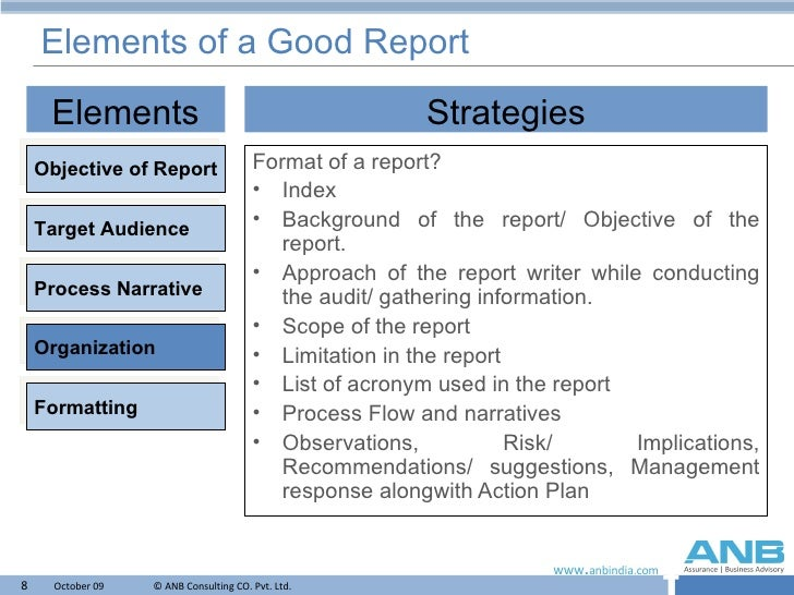 good report templates