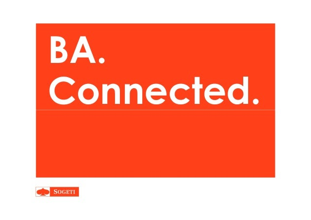 BA. Connected.