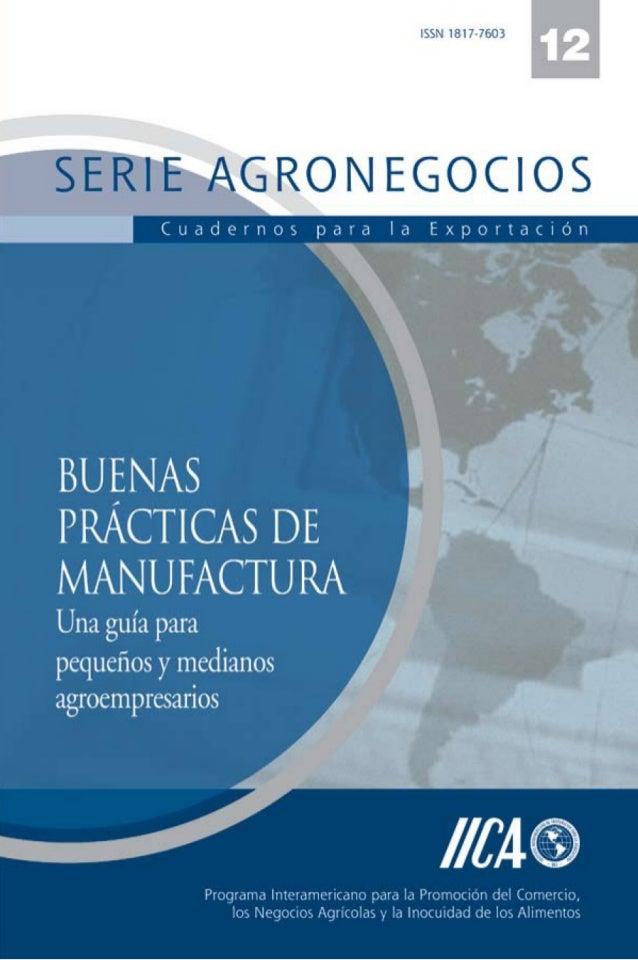 Instituto Interamericano de Cooperación para la Agricultura, IICAPrograma Interamericano para la Promoción del Comercio,lo...