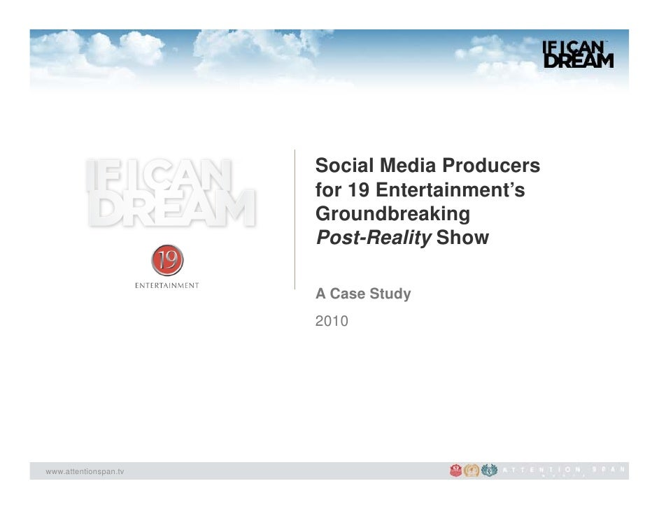 Social Media Producers                       for 19 Entertainment's                       Groundbreaking                  ...