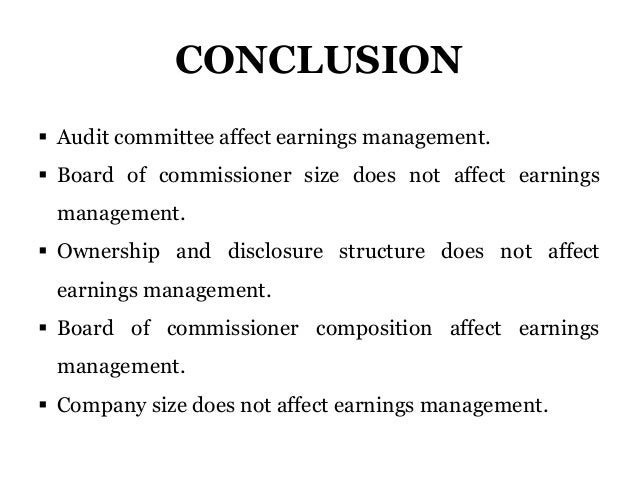 Dissertation corporate governance and disclosure