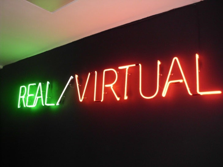 Real - Virtual - Las narrativas en el narrowcasting