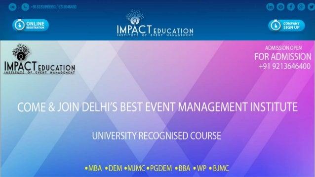 Wedding Planner Course In Delhi