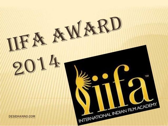 IIfa awards 2014