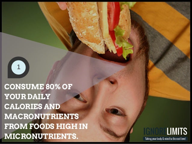 Micronutrients Make Up  Of The Foods We Consume