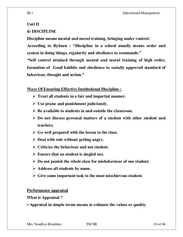 Write a short Essay on Discipline - Essay for School Students
