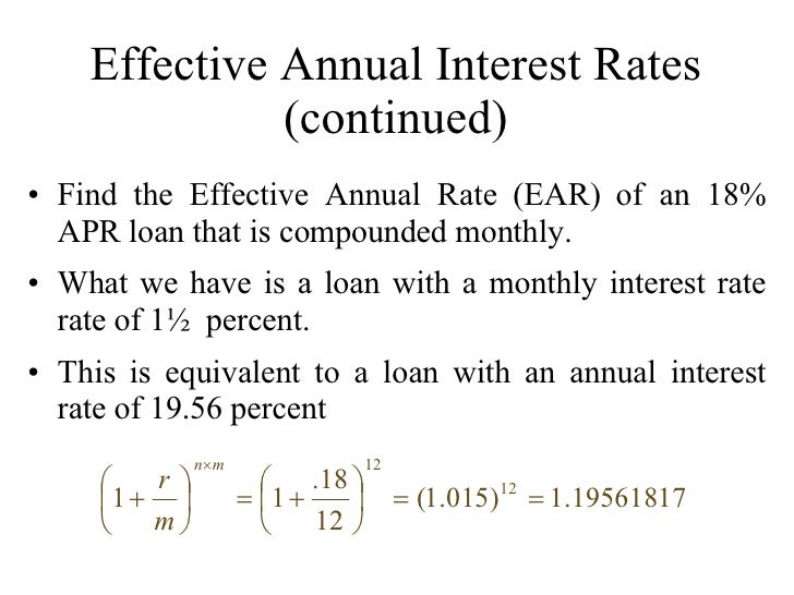 how to find an annual interest rate - Template