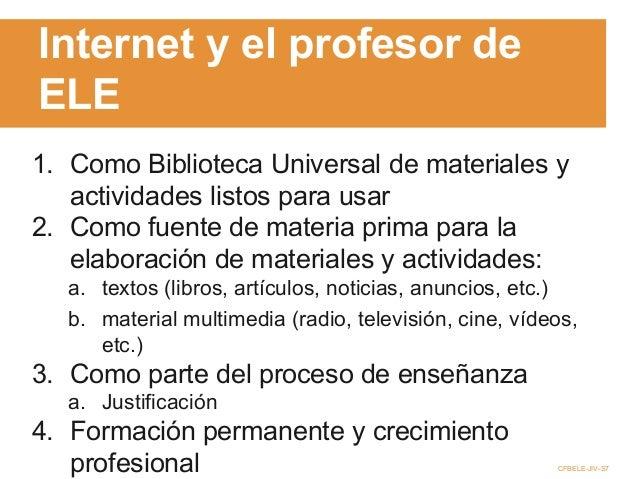 herramientas tecnológicas para el crecimiento profesional (profesor ELE) Slide 3