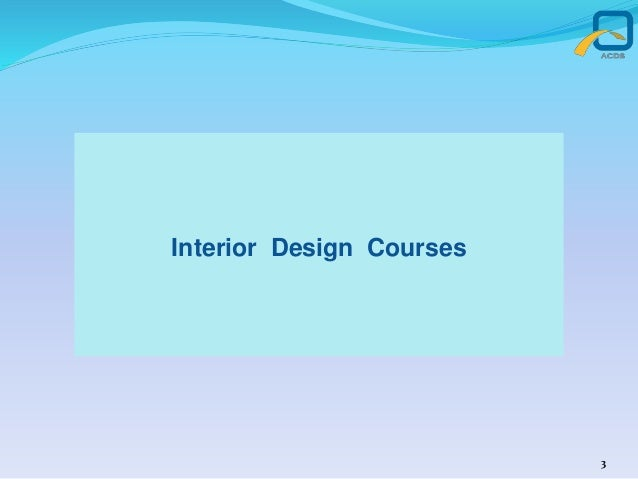 Interior Design Courses 3