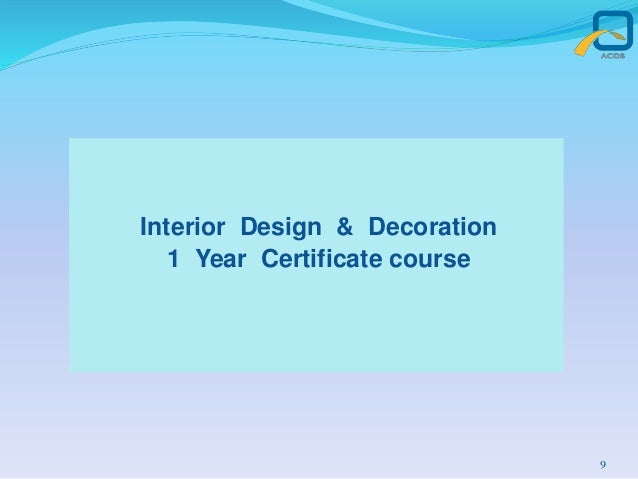 66 Interior Design 1 Year Courses In Mumbai