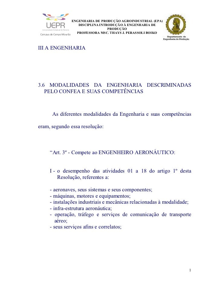 ENGENHARIA DE PRODUÇÃO AGROINDUSTRIAL (EPA)                                                                               ...