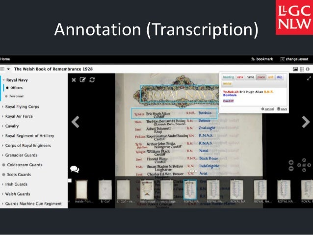 Annotation (Transcription)