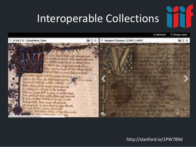 Interoperable Collections http://stanford.io/1PW789d