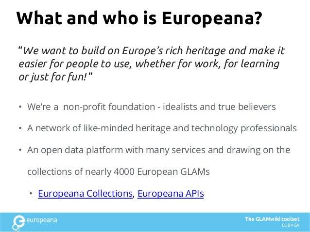Europeana & IIIF - what we have been doing with IIIF and why Slide 2