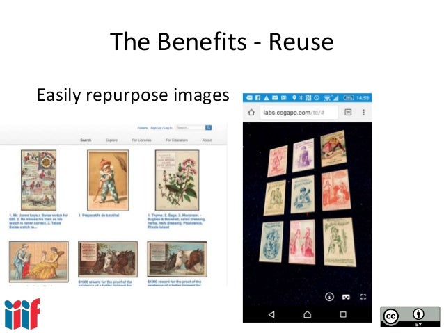 The Benefits - Reuse Easily repurpose images