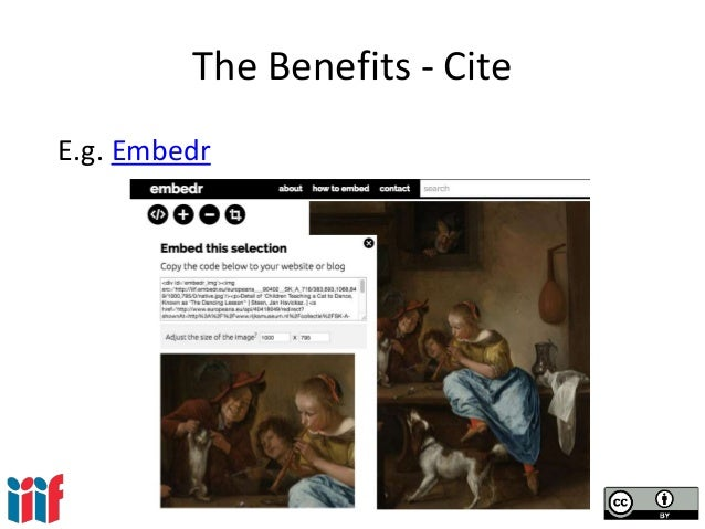 The Benefits - Cite E.g. Embedr