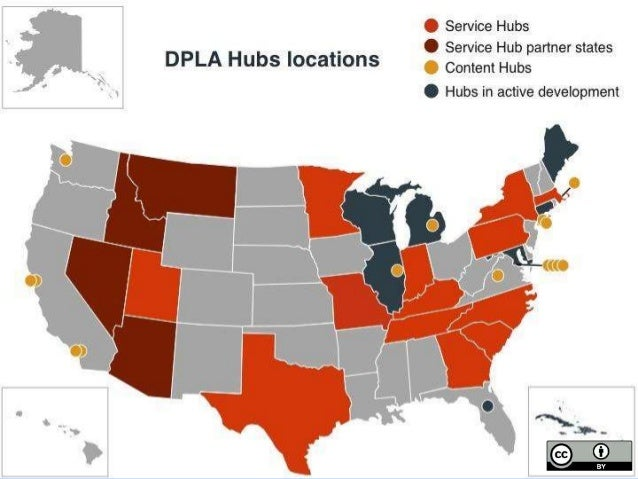 DPLA partner breakdown