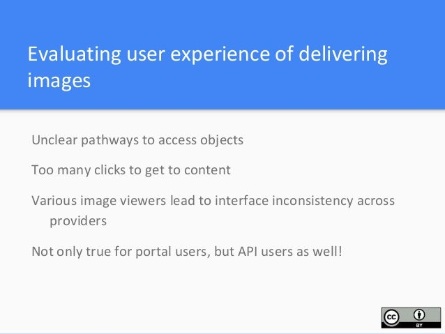 Impacts on developers using the DPLA API