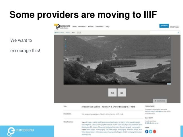 Display • Beta version of our newest Collections portal comes with a proof of concept IIIF-viewer • We have 3 data partner...