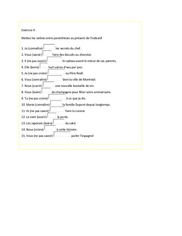 Iii gropupe exercicesl Slide 3