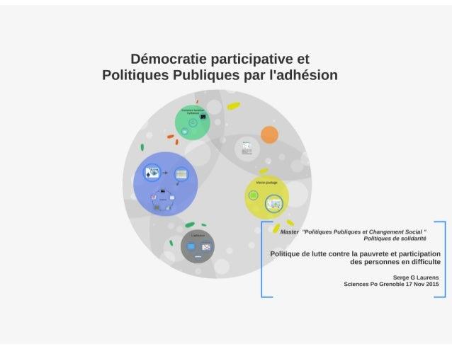 III la gouvernance des politiques de solidarité