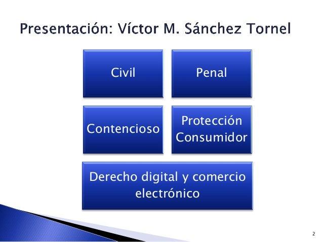2 Civil Penal Contencioso Protección Consumidor Derecho digital y comercio electrónico