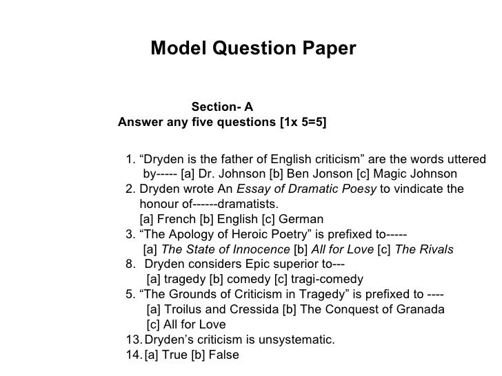 Dr johnsons criticism of shakespeare essay