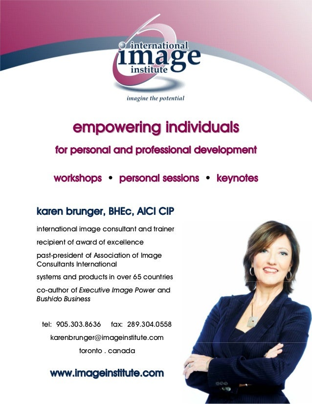 empowering individuals     for personal and professional development     workshops • personal sessions • keynoteskaren bru...