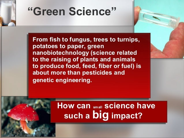 """""""Nanotechnology in agriculture and Food technology"""" By MOHD. HASHIM KHAN Slide 3"""