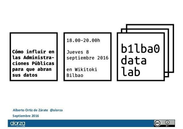 AlbertoOrtizdeZárate@alorza Septiembre2016
