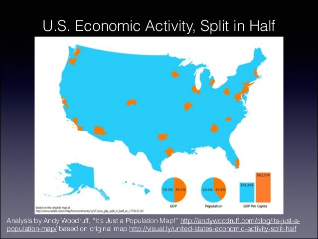 Th Century Development Unequal And Unsustainable - Us economic activity map