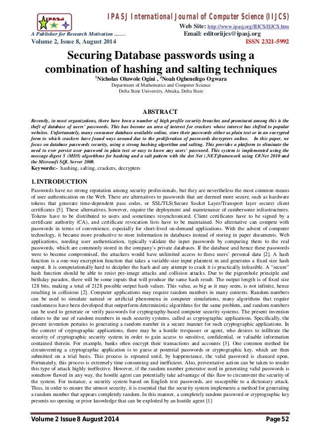 IPASJ International Journal of Computer Science (IIJCS) Web Site: http://www.ipasj.org/IIJCS/IIJCS.htm A Publisher for Res...