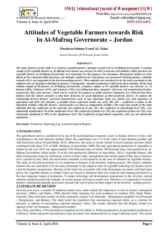 IPASJ International Journal of Management (IIJM) Web Site: http://www.ipasj.org/IIJM/IIJM.htm A Publisher for Research Mot...