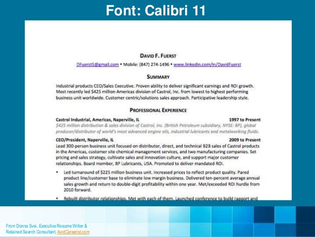 9 resume fonts designers love