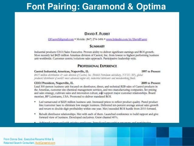 font garamond 12 25 - Resume Font Size Garamond