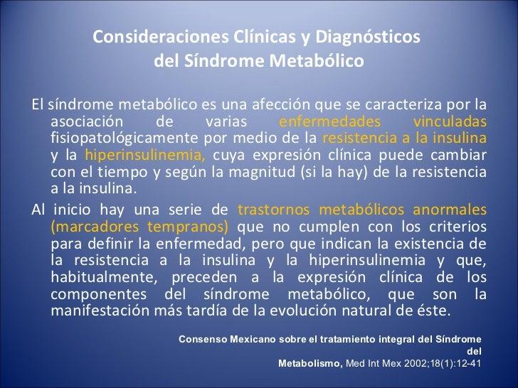 Taller de Nutrición: Nutrición en Síndrome Metabólico