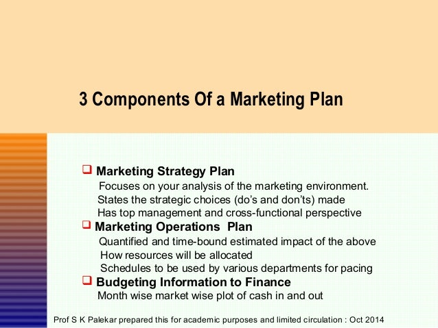 Handout - Marketing Planning Template - Dec 2014