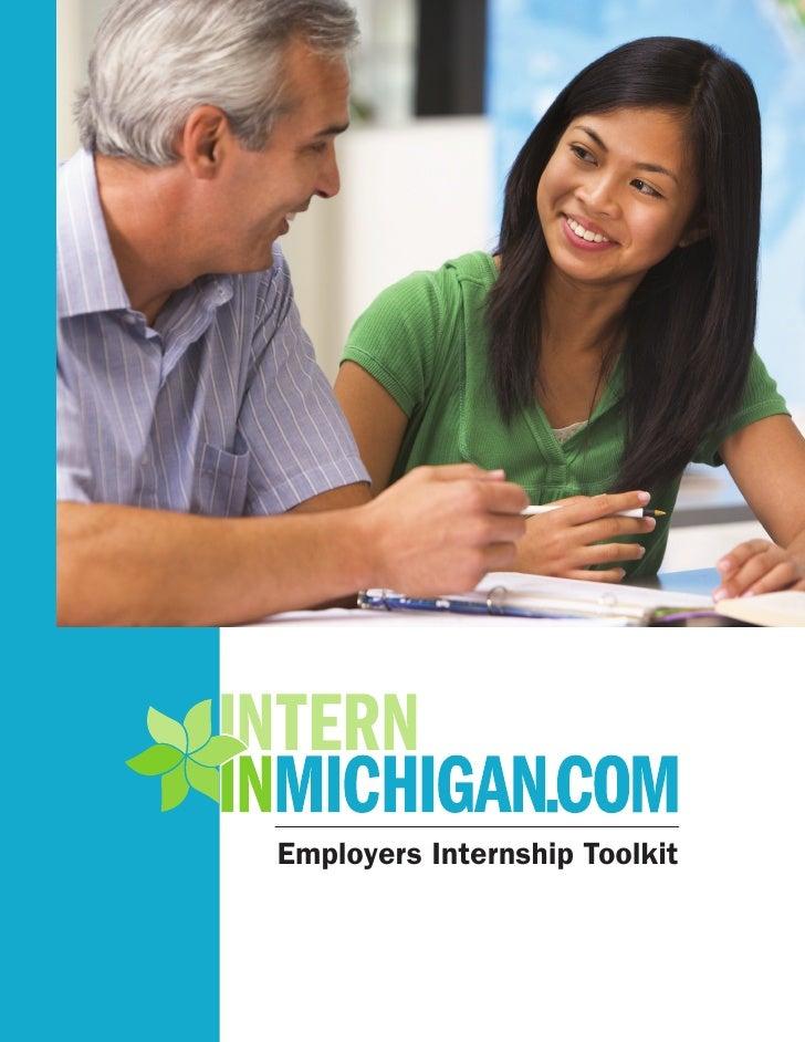 Employers Internship Toolkit