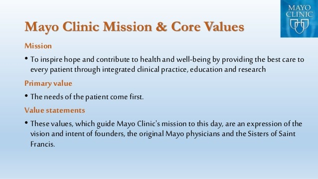 mayo clinic case essay A case study of world famous mayo clinic an effort from my side to study this case and review it.