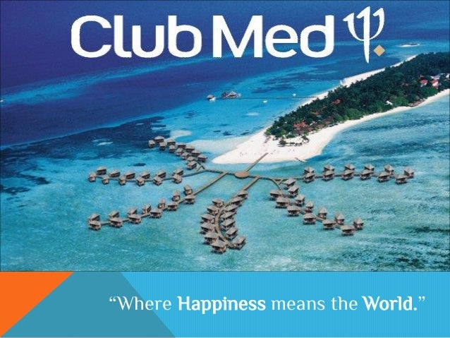 Club Med - Assignment 1