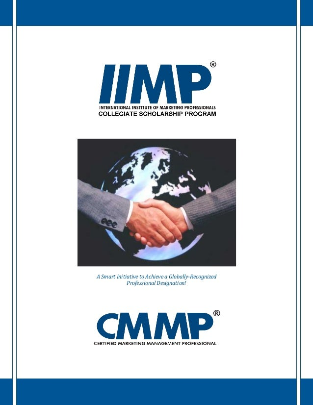 A Smart Initiative to Achieve a Globally-Recognized Professional Designation!