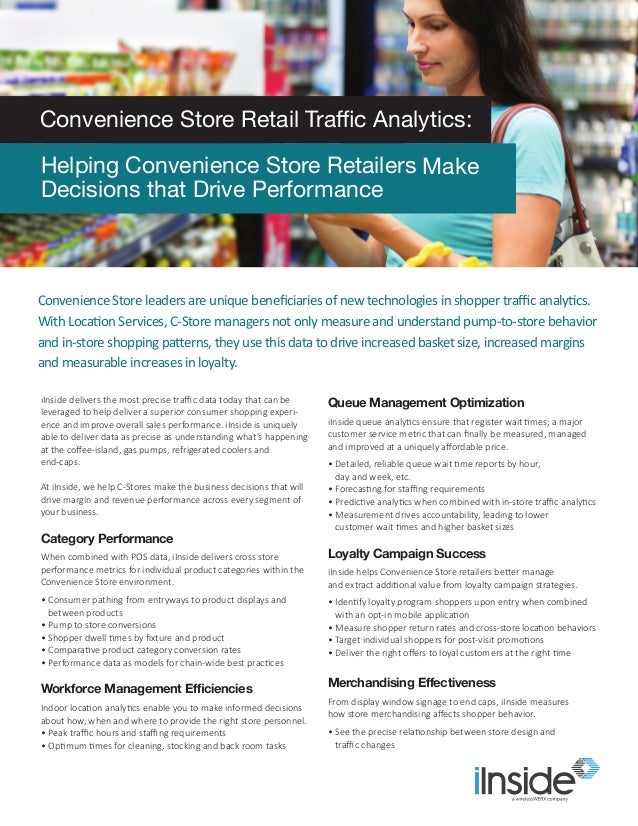 iInside delivers the most precise traffic data today that can be leveraged to help deliver a superior consumer shopping ex...