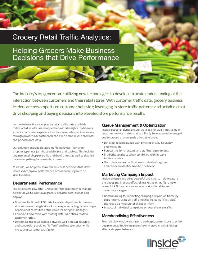 iInside delivers the most precise retail traffic data available today. What results, are shopper behavioral insights that ...